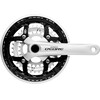 Shimano Deore FC-M591 Kurbelgarnitur silber